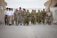 Governor-General and VC recipients visit troops in Iraq