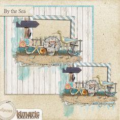 Scrapbooking TammyTags -- TT - Designer - Kimeric Kreations, TT - Item - Quick Page, TT - Theme - Summer or Beach