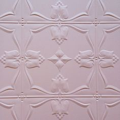 Pink pressed tin surface now available to hire!