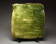 Oribe Slab Platter by Ryoji Koie