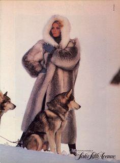 US Vogue October 1984 Model Kim Alexis