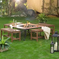 3-Ft Outdoor Backless Garden Bench in Dark Brown Wood Finish