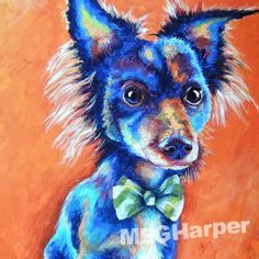 Tater ~ Custom Pet Portrait ~ Custom Art ~ Custom Gifts ~ Dog Painting — Meg Harper Art   Are you looking for a painting of your magnificent pet? Have Meg create a pet portrait just for you, today.    #dog #puppy #best friend #inspirational #kindness #animalpainting #art #painting #pets #petportrait #animal #love #megharper #megharperart