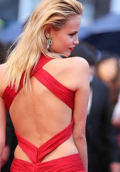 la modella mafia best dressed fashion at Cannes 2012 Film Festival - Natasha Poly in Roberto Cavalli 1 Natasha Poly, Dali, Bombshell Hair, Blond, Head Band, Mademoiselle, Russian Models, Sheer Dress, Backless Dresses