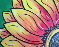 Sunflower *Paint Nite Nashville* Buy tix at paintnite.com
