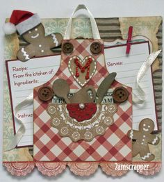 This money holder features the Scrap Cake Cozy Christmas paper collection found at the Flying Unicorn on line store and was published in. Christmas Gingerbread, Cozy Christmas, Gingerbread Crafts, Christmas 2019, Xmas, Recipe Card Holders, Recipe Scrapbook, Printable Recipe Cards, Money Holders