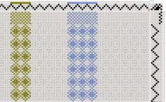 Afbeeldingsresultaat voor weaving drafts for 4 shaft looms