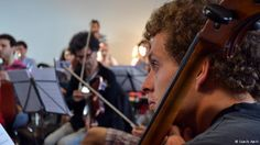 Bremen - Syrian Expat Philharmonic Orchestra, Copyright: Samih Amri - Syrian refugees have created a symphonic orchestra of musicians in exile in Europe. Hoping to change the image of their war-torn country, they rehearse for their opening concert in Bremen.