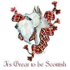 WHEATEN SCOTTISH TERRIER COLLECTION!!! CLICK HERE : Tail End Productions Dog Art By Cherry ONeill