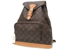 AUTHENTIC LOUIS VUITTON M51135 Monogram Montsouris GMBackpack - daypack Brow... (eBay Link)