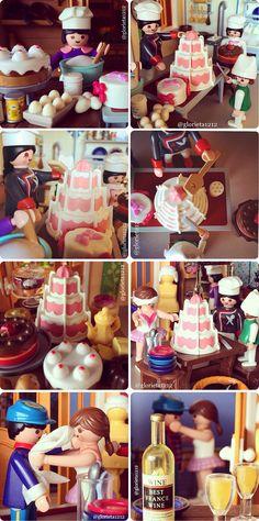 Escenografía con Playmobil. Un perfil de instagram imprescindible.
