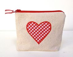 DIY zipper goody bags for Valentine's Day made from drop cloth canvas and red gingham cotton. Today I'll show you how to sew these small zip pouches just in time for Valentine's Day. The finish size on this bitty pouch is 5″w x 4.5″h x 1″thick at bottom. I made these for my daughter's school... Read more