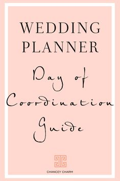 Day of Coordination Guide for Wedding Planner – Wedding Planning Organization Wedding Planner Checklist, Planner Tips, Wedding Planners, Wedding Checklists, Wedding Budgeting, Wedding Reception Planning, Wedding Planning Timeline, Event Planning Business, The Plan