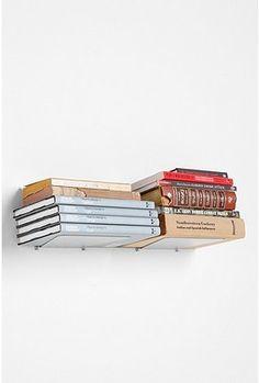 floating shelves... #bedroom #bathroom #living room #books #shelving