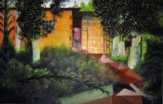 El Rancho del Abuelo 56cm * 36cm Óleo sobre Lienzo Julio de 2014 Painting, Art, Grandparent, Oil On Canvas, Ranch, Canvases, Pintura, Art Background, Painting Art