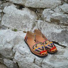 New Women PJar Black Brown Huarache T-Strap Woven Flat Sandals