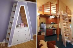 27 Space-Saving Tricks and Techniques for Tiny Houses~  4 Ultra-Compact Stair Designs