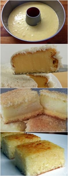 BOLO DE COCO CREMOSO…SIMPLES DE FAZER E DELICIOSO!! VEJA AQUI>>>Bata todos os ingredientes no liquidificador, exceto o fermento e a farinha Despeje em uma vasilha e misture a farinha e o fermento #receita#bolo#torta#doce#sobremesa#aniversario#pudim#mousse#pave#Cheesecake#chocolate#confeitaria