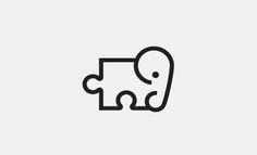Elephant Jigsaw logo designed by Richard Baird
