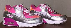 LITTLE GIRLS NIKE AIR MAX 90 RUNNING SHOES SIZE 11 NEW NO BOX