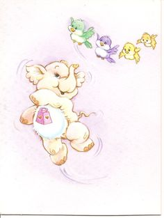 American Greetings Care Bear Cousins Lotsa by DustOffTheShelf, $4.00