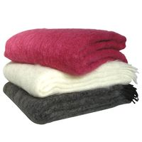 SAAGA Mohair blanket - Nordic Interior Design - Finnish design - mohair blankets - wool blankets