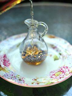 Lavender and Lemon Infused Vinegar