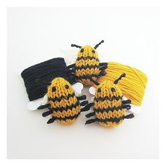 NobleKnits.com - Mochimochi Land Tiny Bee Knitting Kit, $12.95 (http://www.nobleknits.com/mochimochi-land-tiny-bee-knitting-kit/)