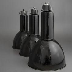 Vintage Bauhaus Factory Pendant Lamp