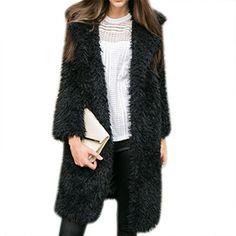Jackets & Coats Women's Clothing Winter Women Gradient Overcoat Fur Short Outerwear Jackets Coat Hair Faux Long Fur Jacket Fur Faux New Coats Winter Crease-Resistance