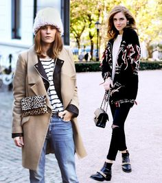 How To Stay Warm and Still Look Cute: A Street Style Guide - WhoWhatWear.com