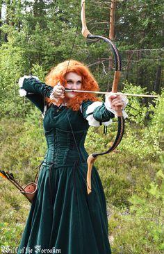 Merida Brave Cosplay Bow Archery