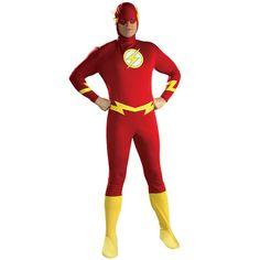 The Flash Costume Adult Superhero Halloween Fancy Dress Flash Halloween Costume, Superhero Halloween, Halloween Fancy Dress, Halloween 2019, Easy Costumes, Super Hero Costumes, Adult Costumes, Costume Ideas, Martian Manhunter