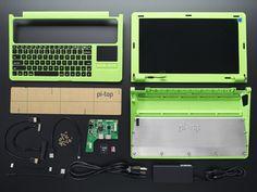 Pi-Top - GREEN - A Laptop Kit for Raspberry Pi B+ / Pi 2 / Pi 3
