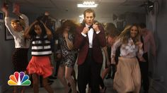 Kevin Bacon Reprises His Epic Dance Scene From 'Footloose' After Jimmy Fallon Bans Dancing On 'The Tonight Show'