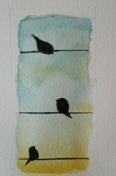 What is Your Painting Style? How do you find your own painting style? What is your painting style? Watercolor Bookmarks, Watercolor Bird, Simple Watercolor Paintings, Watercolor Ideas, Simple Paintings, Paper Bookmarks, Bird Paintings, Painting Inspiration, Art Inspo