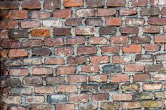 Brick Wall by ChristianThür Photography on Creative Market Brick Wall, Abstract Backgrounds, Creative, Photography, Abstract, Fotografie, Fotografia, Exposed Brick, Brick Walls