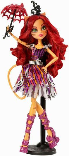 Toralei Stripe Freak du Chic Monster High Doll, 2015 (I bought her on sale at Meijer for $15.)