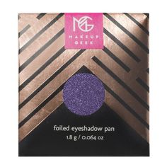 Makeup Geek Foiled Eyeshadow Pan in Caitlin Rose
