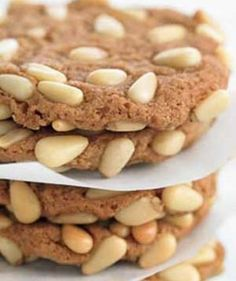 Pine nuts, also known as pignoli, are beloved in Italian holiday baking and lend these rich, buttery cookies their delicate, toasty flavor.