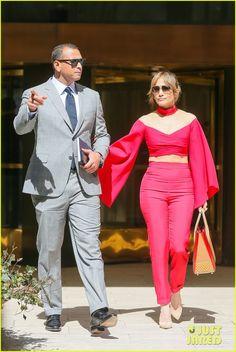 Jennifer Lopez & Alex Rodriguez Kick Off the Week Together in NYC   jennifer lopez alex rodriguez nyc monday 02 - Photo