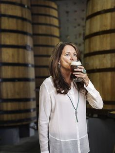 Kim Jordan, co-founder of New Belgium Brewery, is an inspiring business woman with care for the environment and her employees' happiness.