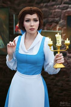 Belle from Beauty and the Beast Cosplay Belle Cosplay, Belle Costume, Disney Cosplay, Cosplay Girls, Disney World Characters, Cartoon Characters, Disney Princess Frozen, Belle Beauty And The Beast, Photography Poses For Men
