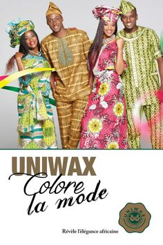 Campagne UNIWAX Colore la Mode. #wax #waxprint #fashion #mode africaine