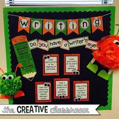 Monster Theme Classroom Reveal 2015-2016: