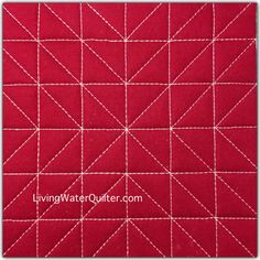 Easy Free Motion Quilting Designs Straight Lines 53 Trendy Ideas Quilting Stitch Patterns, Machine Quilting Patterns, Quilt Stitching, Quilt Patterns, Quilting Stencils, Quilting Templates, Quilting Tutorials, Quilting Tips, Quilting Rulers