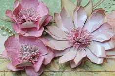 Love the centers (use Cricut Flower Shoppe cartridge)