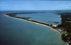 Presque Isle beaches on Lake Erie