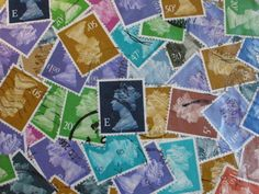 Postage stamps- something to brighten up journals, add currency, history - I like my idea!  Why didn't I think of it sooner!