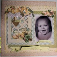 Layout: My Darling Baby Boys page 1
